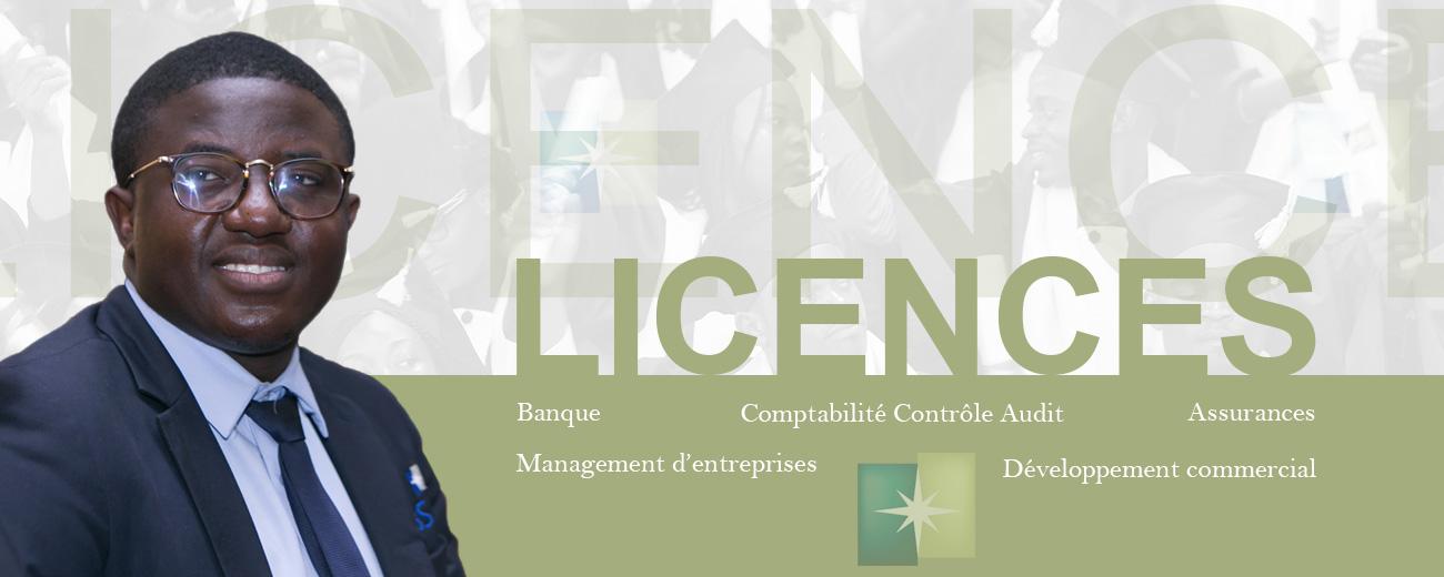 accueil Licences